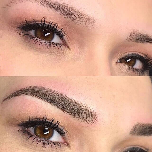 Maquillage permanent - Microblading